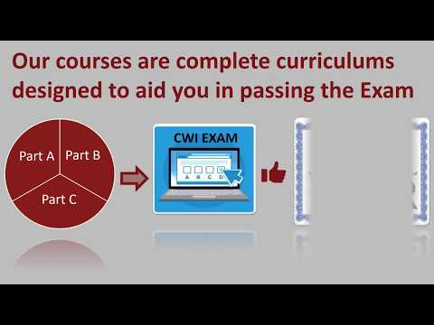 Online CWI Training Course 799 From Atlas API Training