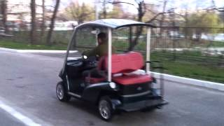 видео Аккумуляторные батареи для гольфкаров и электрокаров