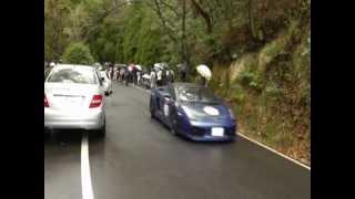岡山で開催されたベッキオバンビーノ2012のスタート風景です。生憎の雨...