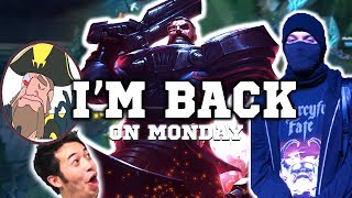Tobias Fate - BACK TO STREAMING THIS MONDAY! | BEST MOMENTS League of Legends