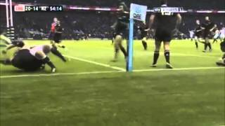 "England vs New Zealand Rugby 2012   ""Englands greatest ever Twickenham win"""
