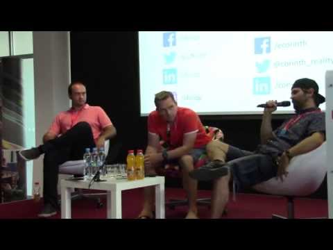 Panelová diskuse Corinth VR Hackathon Brno
