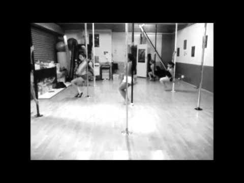 Pole Dance Cape Town Level 4's with Marina Kostrova