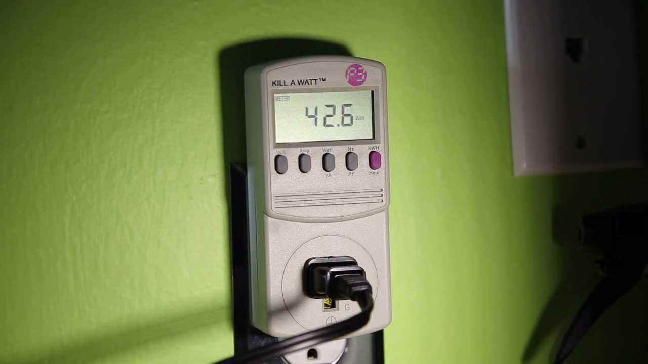 Lower your electricity bill with the Kill-A-Watt device - YouTube