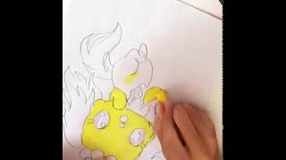 Drawing a Jewelpet|Ruby Channel