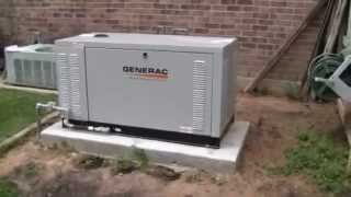 видео Газовые генераторы Generac от 5,6 кВт для дома!