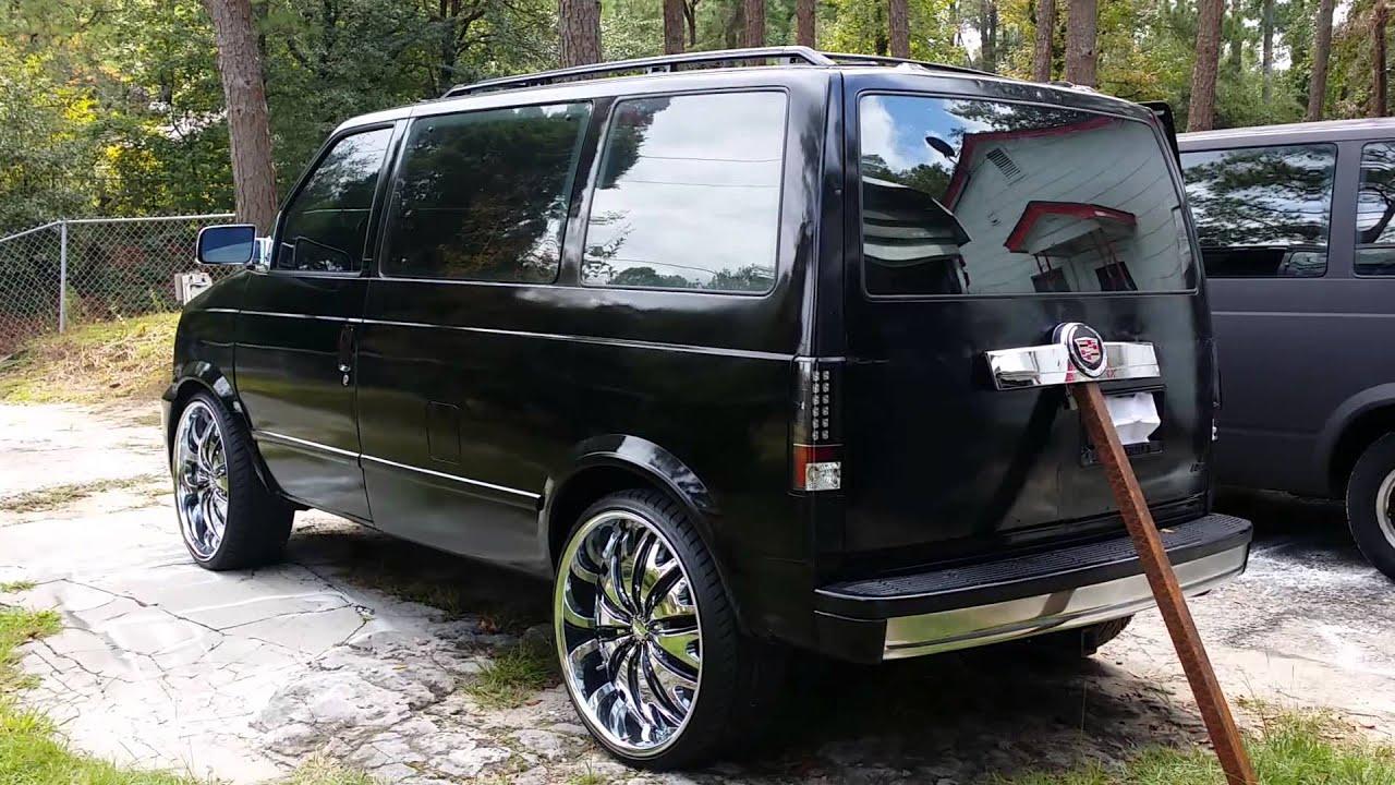 Custom Astro Van Escalade Platinum Conversation