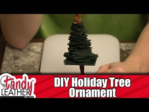 DIY Holiday Tree Ornament