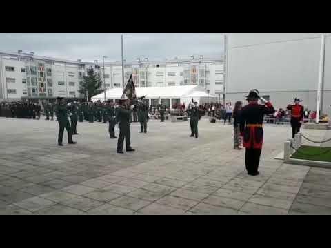 La Guardia Civil homenajea a su patrona en Pontevedra