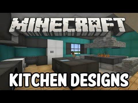 Minecraft Cool Kitchen Design Youtube
