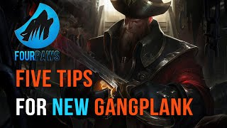 Five Laning Tips for Gangplank