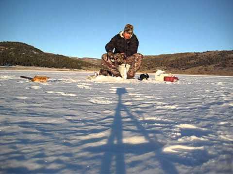 Panguitch lake utah ice fishing youtube for Panguitch lake fishing report