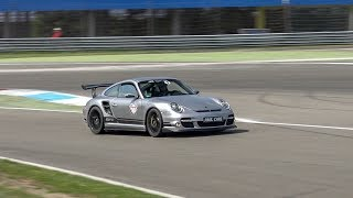 1200HP 9ff Porsche 997 Turbo Going FLATOUT on Track - Flames, Crazy Accelerations & Fly By