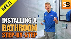 How to Install a Complete Bathroom Step-by-Step