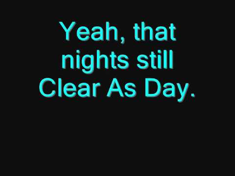 Clear As Day - Scotty McCreery (With Lyrics On Screen)