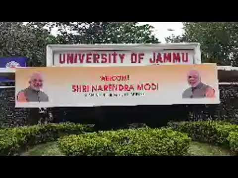 PM Modi's Jammu and Kashmir visit begin.