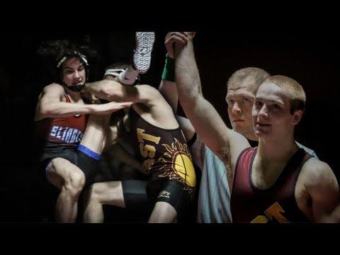 Wrestling SENIOR NIGHT **crazy Takedowns**