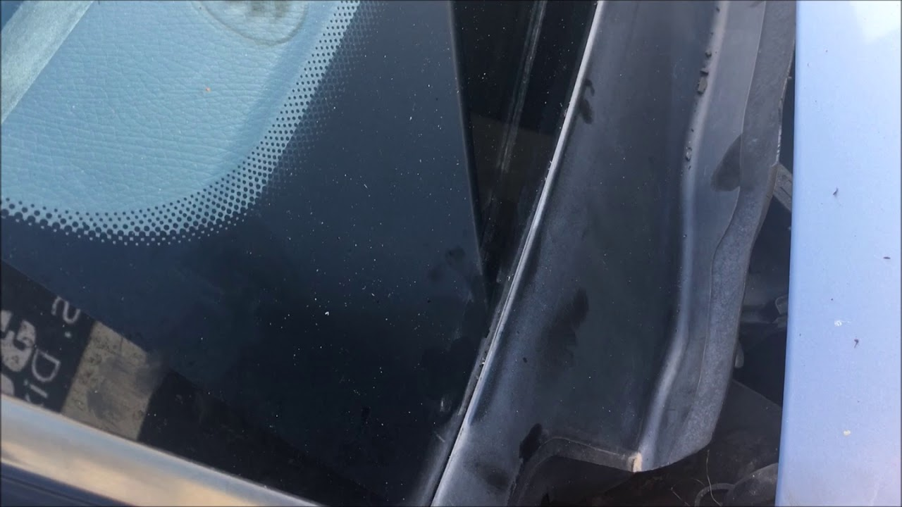 How To Remove A Windshield Wiper Cowl Cover Trim Molding On A Mercedes Benz  S430/W220
