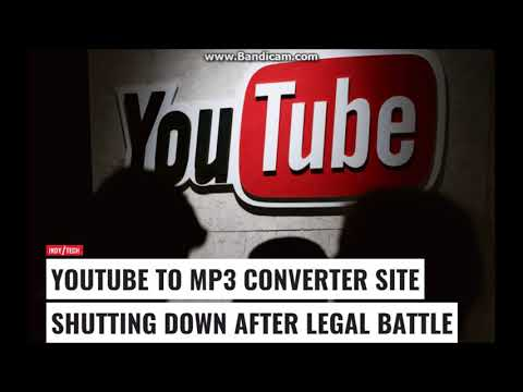 YouTube ripping site YouTube MP3 set to shut down link below V