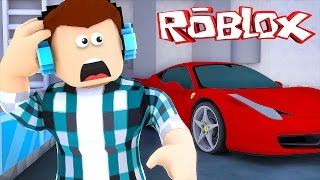 Roblox - QUEBREI MEU CARRO !! ( Roblox Car crushers )