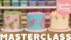 Buttercream Cake Piping Masterclass | Cupcake Jemma