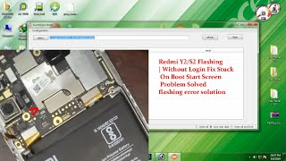 How to flash redmi y2