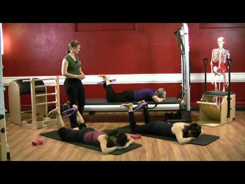 Upside-Down Pilates - Magic Circle and Hand Weights Part 2- Pilates Workout 34 - Full Episode - HD