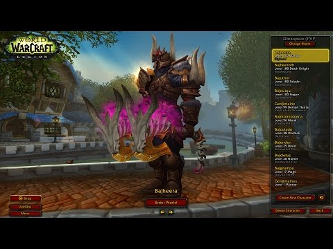 Bajheera - 7.1.5 DEATHWISH +50% DMG BG TESTING - WoW Fury Warrior PvP
