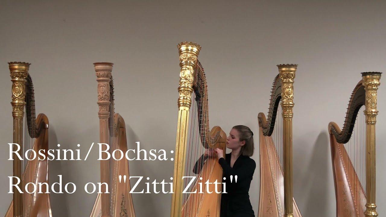 "N.C. Bochsa: Rondeau sur le trio ""Zitti zitti"" from Rossini´s""Le Barbier de Séville"""