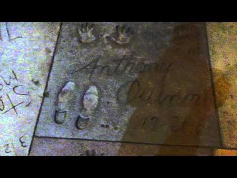 Grauman's Chinese Theatre handprint