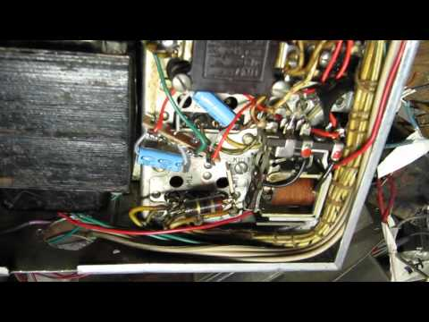 WWII Military ARB Aircraft Radio Repair / AC conversion