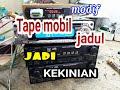 Cara Memasang modul Mp3 player pada Tape Mobil lama/ jadul