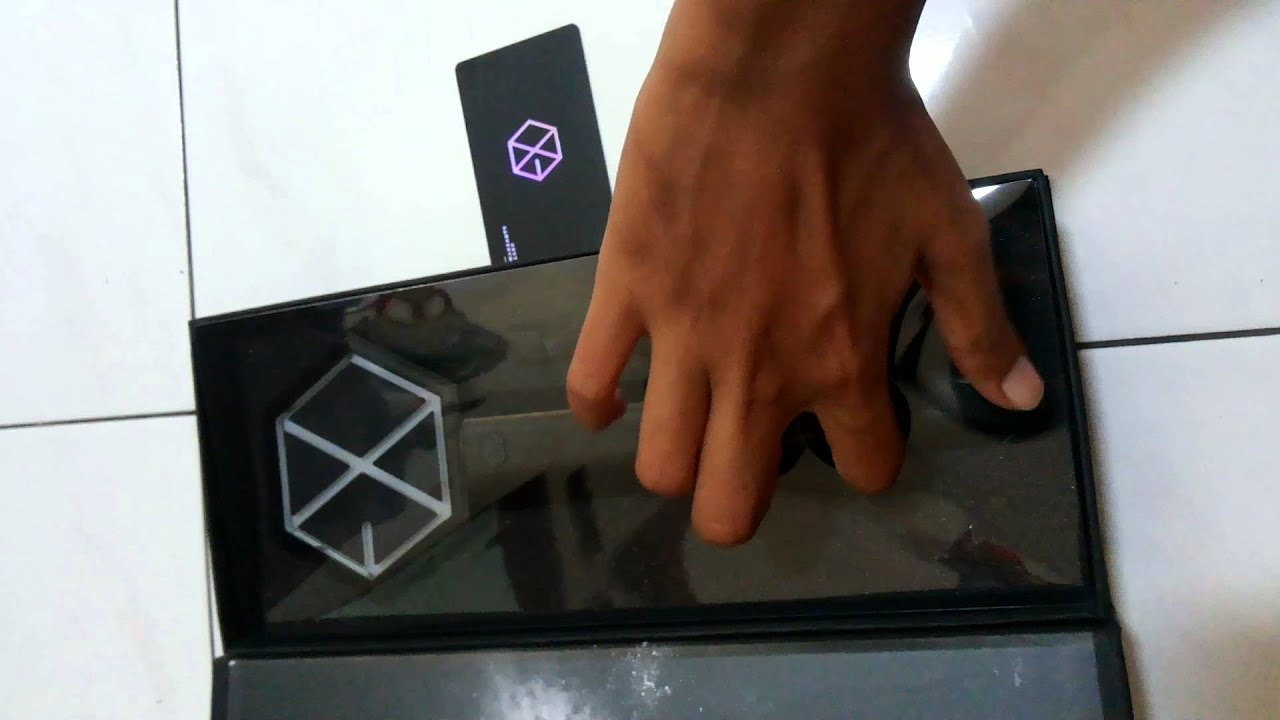 [Unboxing] EXO OFFICIAL LIGHTSTICK by Wufan Mister