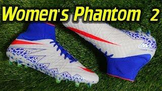 Women's Nike Hypervenom Phantom 2 v2 (Spark Brilliance Olympic Pack) - Review + On Feet