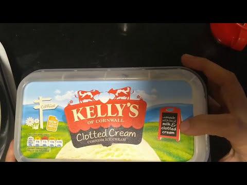 KELLYS of CORNWALL |   Clotted Cream Cornish Ice Cream