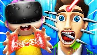 Evil Baby Does FORBIDDEN EXPERIMENTS On PARENTS (Baby Hands VR Funny Gameplay)