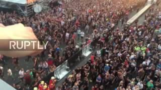 Germany: Rock festival evacuated over 'terrorist threat'