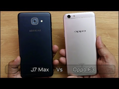 Samsung Galaxy J7 Max Vs Oppo F3 Comparison And SpeedTest I Hindi