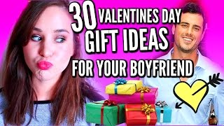 30 VALENTINE'S DAY GIFT IDEAS FOR YOUR BOYFRIEND!