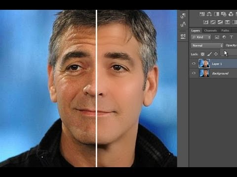 Tutorial Como Reducir Las Arrugas De Forma Realista En Photoshop Cs6 Youtube