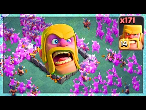 HUGE GLITCH in Clash of Clans! Bug, CHEAT, or WORSE? 171 Barbarians!