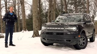 2021 Ford Bronco Sport Badlands | In The Snow It's All Go