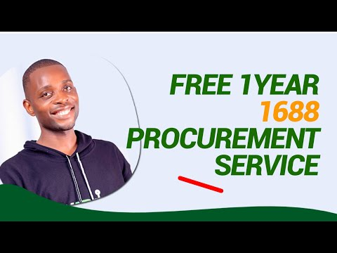 FREE ONE YEAR 1688 PROCUREMENT SERVICES.