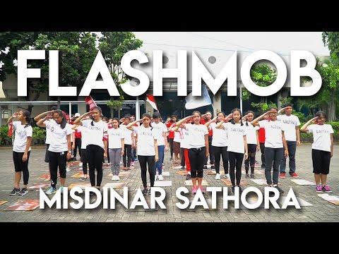 FLASHMOB MISDINAR SATHORA #JPIICup17 #Flashmob