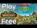 How To Play World of Warcraft For Free