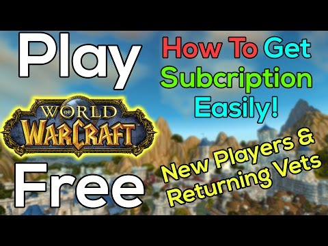 Free To Play World Of Warcraft
