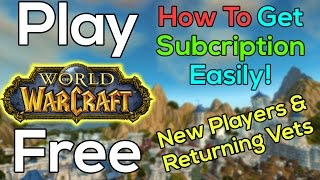 How To Play World of Warcraft For Free(, 2015-05-30T14:07:13.000Z)