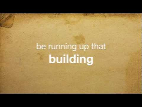 Running up that Hill - Track and Field (lyrics on screen) HD