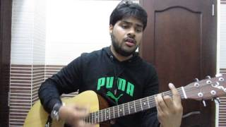 Sun Raha Hai Na tu Aashiqui 2 Guitar cover with chords