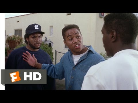 Boyz n the Hood (5/8) Movie CLIP - Doughboy vs. Mama's Boy (1991) HD